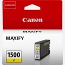 Original Canon Patrone PGI-1500 Gelb
