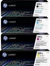 Original HP Toner 201X CF400X CF401X CF402X CF403X Set