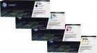 Set Original Toner HP 312A CF380A+CF381A+CF382A+CF383A