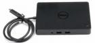 Dell Dock WD15 - Docking Station - USB-C - VGA, HDMI,Mini DP