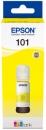 Original Epson Tinte 101 Gelb (C13T03V44A)