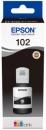 Original Epson Tinte 102 Schwarz