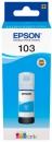 Original Epson Tinte 103 Cyan