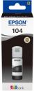Original Epson Tinte 104 Schwarz