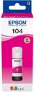 Original Epson Tinte 104 Magenta