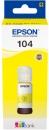 Original Epson Tinte 104 Gelb