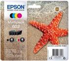 Set Original Epson Patronen 603 (Seestern) Mehrfarbig