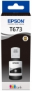 Original Epson Tinte T6731 Schwarz