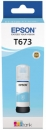 Original Epson Tinte T6735 Fotocyan