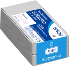 Original Epson Patronen SJIC22PC Cyan
