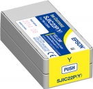 Original Epson Patronen SJIC22PY Gelb