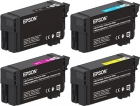Set 4x Original Epson Patronen UltraChome XD2 T40