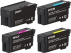 Set 4x Original Epson Patronen XL UltraChome XD2