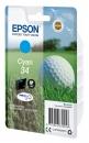 Original Epson Patrone 34 C13T34624010 (Golfball) Cyan