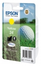 Original Epson Patrone 34 C13T34644010 (Golfball) Gelb