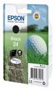 Original Epson Patrone 34 C13T34614010 (Golfball) Schwarz