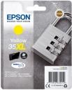 Original Epson Patronen 35 XL T3594 (Schloss) Gelb