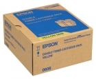 Original Epson Toner S050606 Gelb
