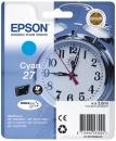 Original Epson Patronen 27 Wecker Cyan