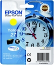 Original Epson Patronen 27 Wecker Yellow / Gelb