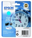 Original Epson Patronen 27 XL Wecker Cyan