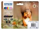 Original Epson Patronen 378 (Eichhörnchen) Set Mehrfarbig