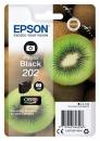 Original Epson Patronen 202 (Kiwi) Fotoschwarz