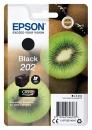 Original Epson Patronen 202 (Kiwi) Schwarz