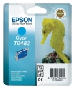 Original Epson Patronen T0482 Cyan