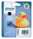 Original Epson Patronen T0551 Schwarz