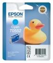 Original Epson Patronen T0552 Cyan