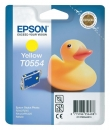 Original Epson Patronen T0554 Gelb
