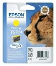 Original Epson Patronen T0714 Gelb