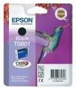 Original Epson Patronen T0801 Schwarz