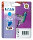 Original Epson Patronen T0802 Cyan