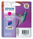 Original Epson Patronen T0803 Magenta
