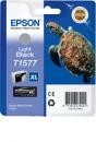Original Epson T1577 (Schildkröte) Druckerpatronen Photoschwarz XL