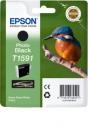 Original Epson T1591 (Eisvogel) Druckerpatronen Schwarz