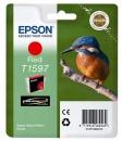 Original Epson T1597 (Eisvogel) Druckerpatronen Rot