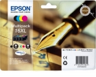 Original Patronen Epson 16 XL Set T1636