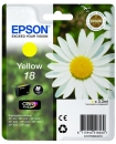 Original Patronen Epson T1804 18 Gelb