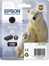 Original Patronen Epson T2601 (Eisbär) Schwarz