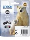 Original Patronen Epson T2611 (Eisbär) Fotoschwarz