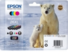 Original Patronen Epson T2636 (Eisbär) Set XL