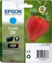 Original Epson Patronen 29 T2982 (Erdbeere) Cyan