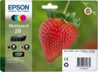Original Epson Patronen 29 T2986 (Erdbeere) Mehrfarbig Set