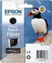 Original Epson Patronen T3241 (Puffin) Fotoschwarz