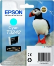 Original Epson Patronen T3242 (Puffin) Cyan