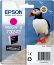 Original Epson Patronen T3243 (Puffin) Magenta