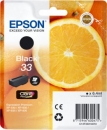 Original Epson Patronen 33 (Orange) T3331 Schwarz